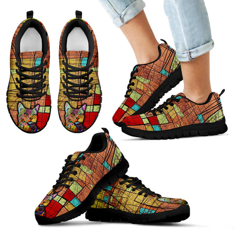 Colorful cat Kid's Sneakers