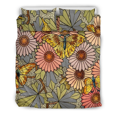 Butterfly Flower Bedding Set