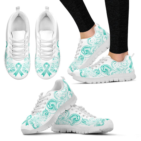 Cervical Cancer Awareness Women's Sneakers