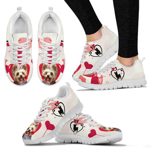 Yorkshire Terrier Dog Print Running Shoes For Women