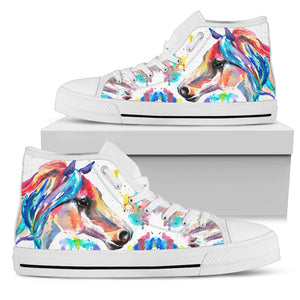 Colorful Horse Men's High Top