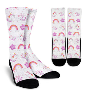 Unicorn Crew Socks