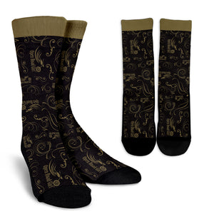 GOLD Open Road Girl Socks