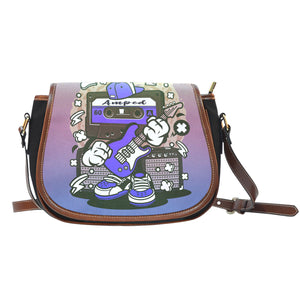 Amped Guitar Saddle Bag for Musicians and Music Freaks