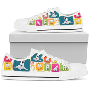 Bull Terrier Women's Low Top Shoe