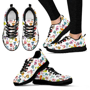 Colorful cats Women's Sneakers