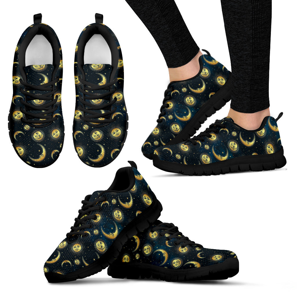 Sun and moon Women's Sneakers