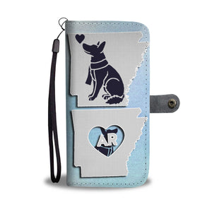 Amazing German Shepherd Art Print Wallet CaseAR State