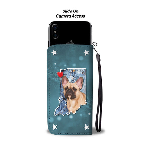 Amazing French Bulldog Print Wallet CaseIN State