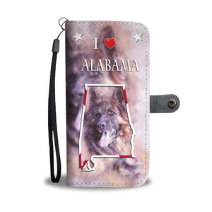 Amazing German Shepherd Print Wallet CaseAL State