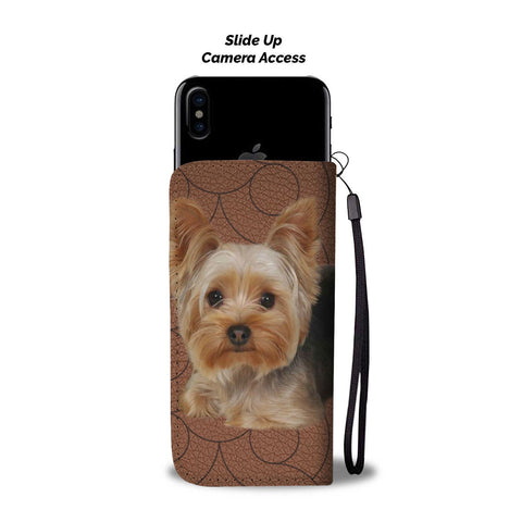 Yorkshire Terrier (Yorkie) Print Wallet Case