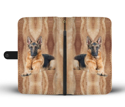Amazing German Shepherd Dog Print Wallet Case