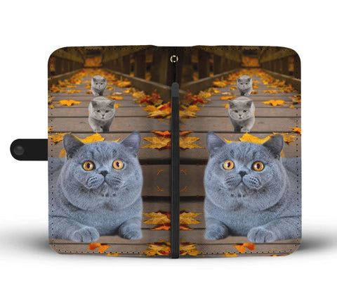 Image of Amazing British Shorthair Cat Print Wallet Case