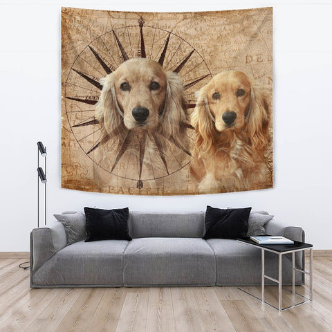 Image of Amazing English Cocker Spaniel Print Tapesstry