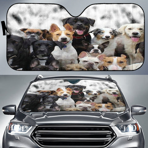 Image of Cute branch Auto Sun Shade