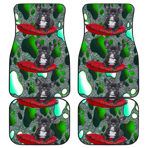 French Bulldog Car Floor Mat