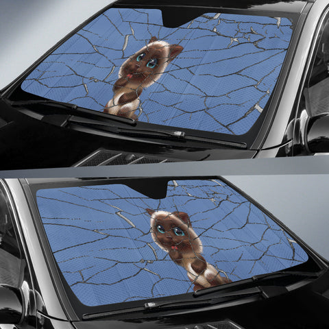 Image of Funny puppy Auto Sun Shade