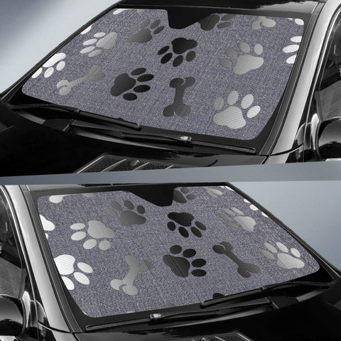 Image of Silver Paws & Bones Sun Shade