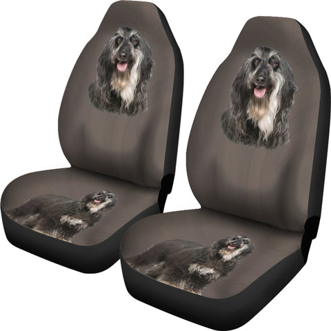 Image of Cute face car Seat Cover