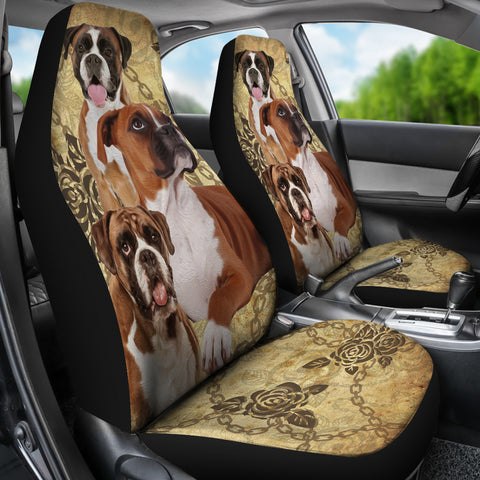 Boxer Car Seat Covers (Set of 2)
