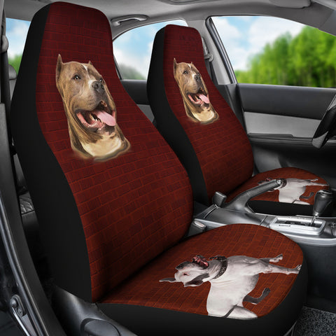 American Pit Bull Auto Seat Cover