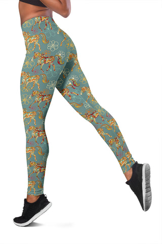 Flower Horse Leggings