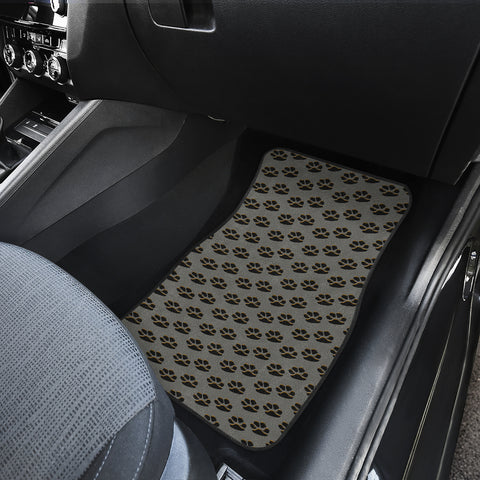Image of Paws only car floor mat