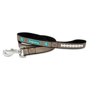 Miami Dolphins Reflective Football Pet Leash