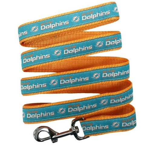 Miami Dolphins Pet Leash by Pets First