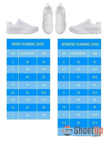 Image of British Shorthair Cat Print Running Shoes For Women