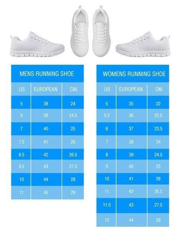 British Shorthair Cat Print Running Shoes For Men