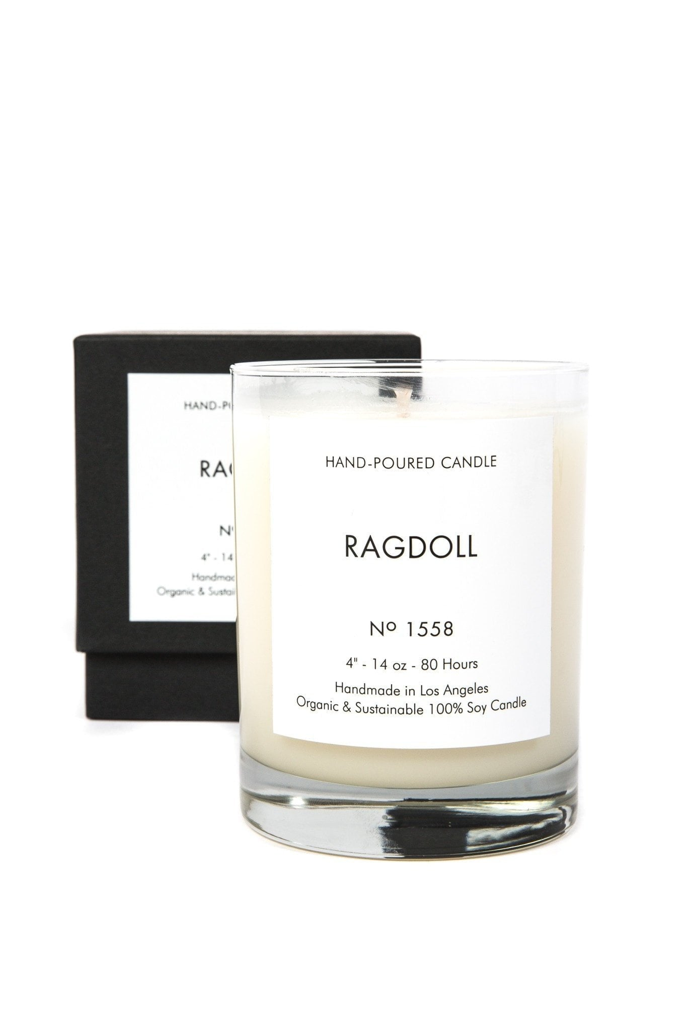 HAND-POURED CANDLE No 1558