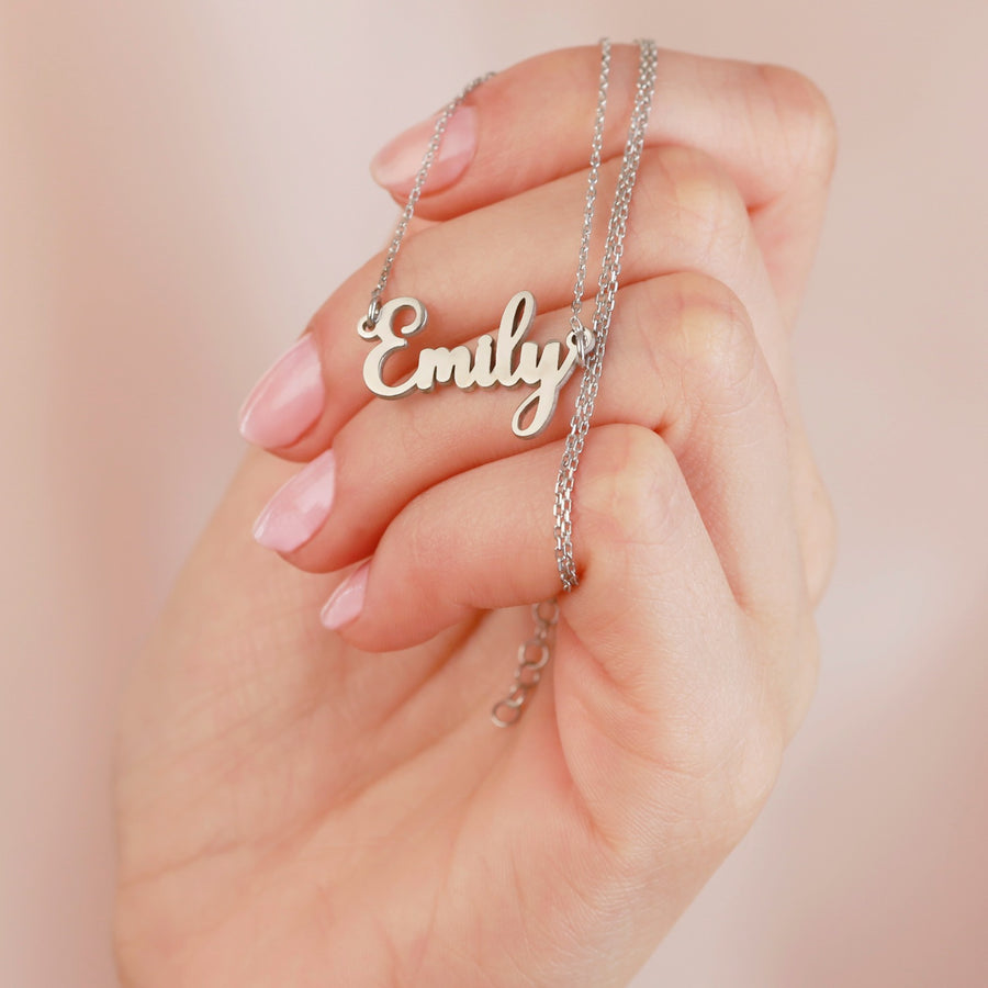 Name Necklace - Custom Word Necklace