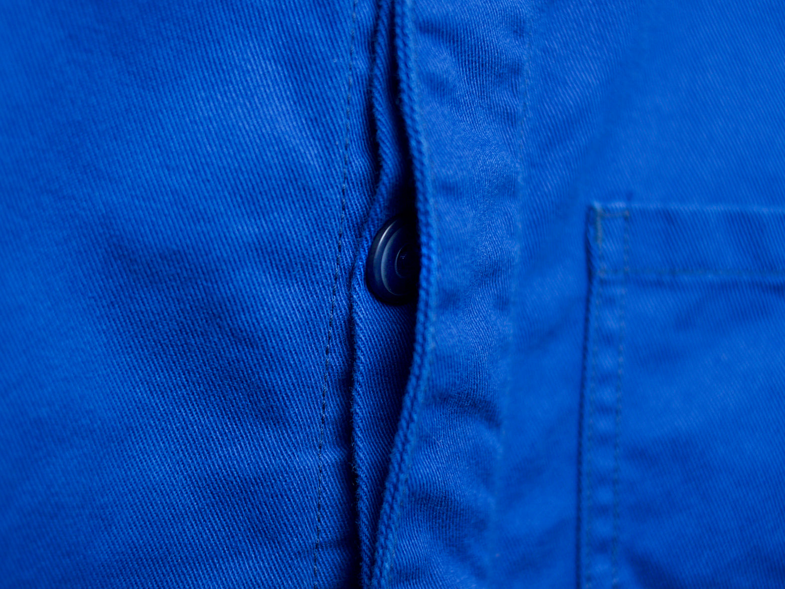 THE CHORE COAT. ROYAL BLUE.