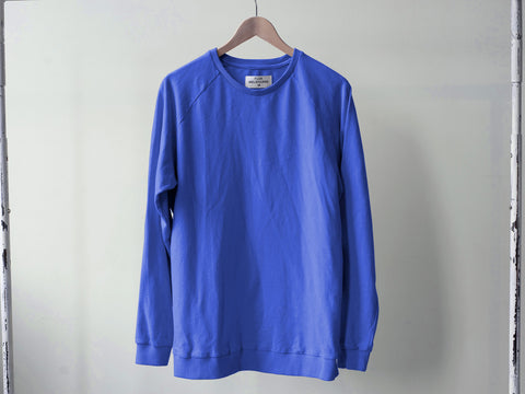 RAGLAN SWEATER. TURKISH SEA BLUE.