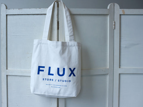 FLUX STORE / STUDIO. CANVAS TOTE
