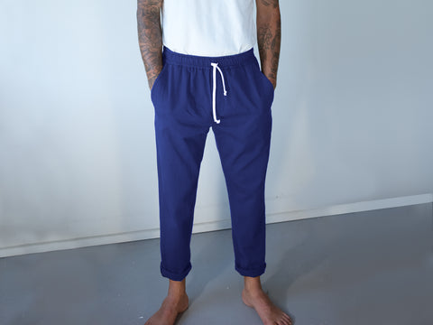 BEDFORD PANTS. ROYAL BLUE