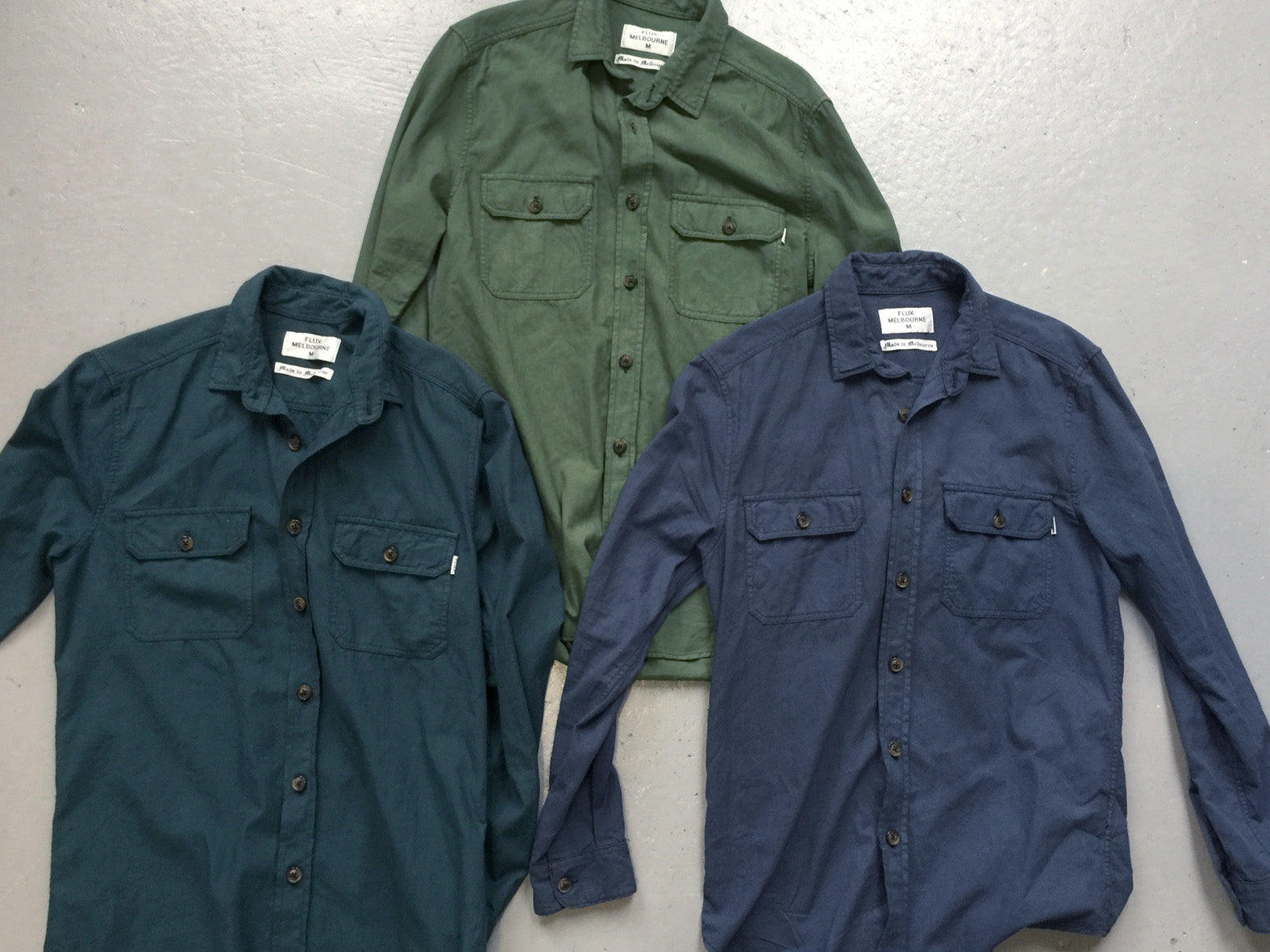 THE SMITH. WORK SHIRT. FOREST