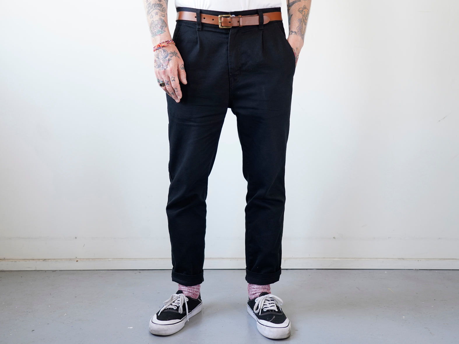 COURTLAND. LABOUR PANT. BLACK