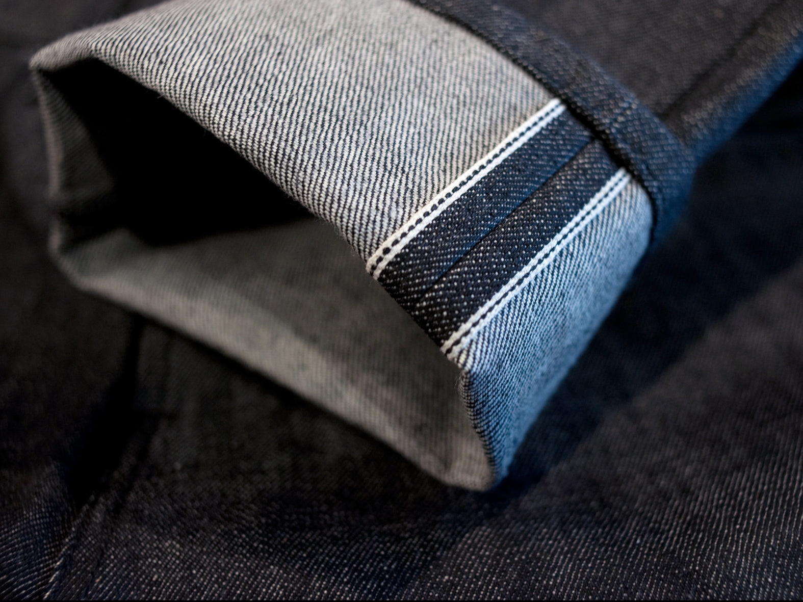 WOODLAND STRAIGHT. RAW BLACK SELVEDGE.