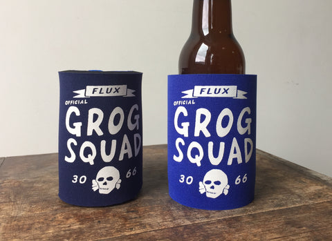 GROG SQUAD STUBBY HOLDER - ROYAL.