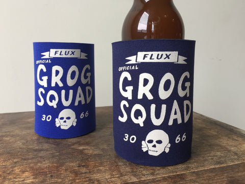 GROG SQUAD STUBBY HOLDER - NAVY.