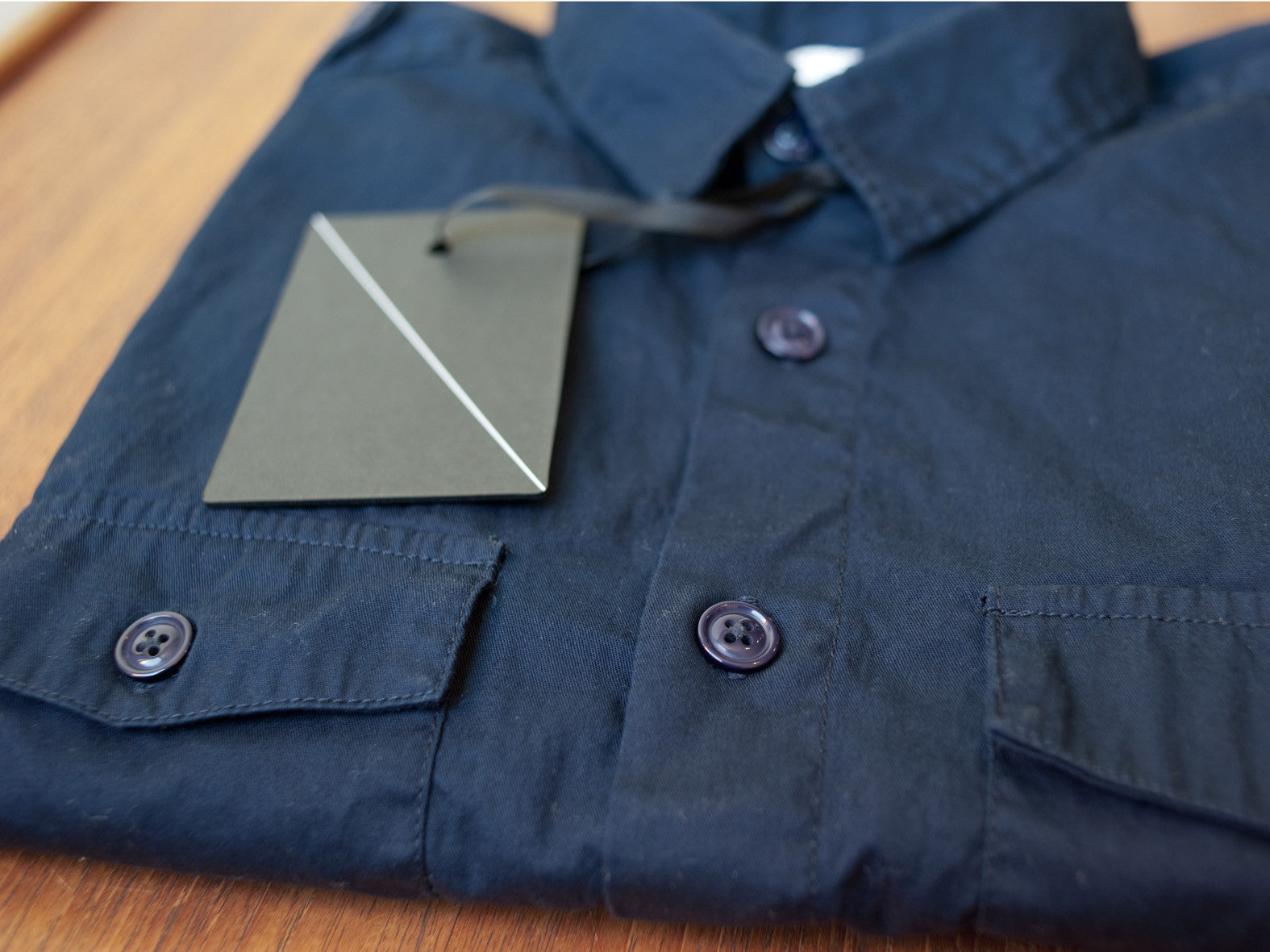 WORK SHIRT. NAVY.