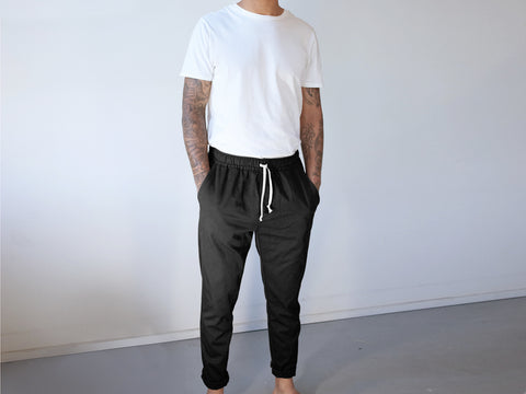 BEDFORD PANTS. BLACK