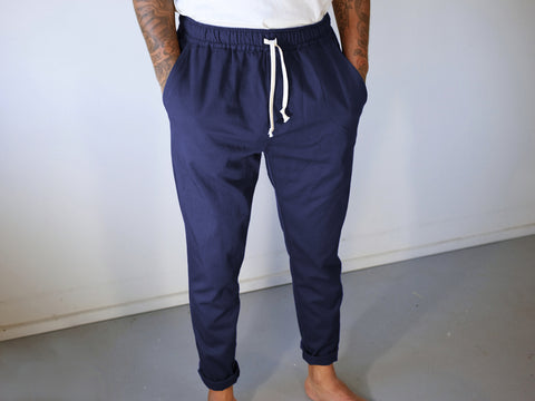BEDFORD PANTS. NAVY