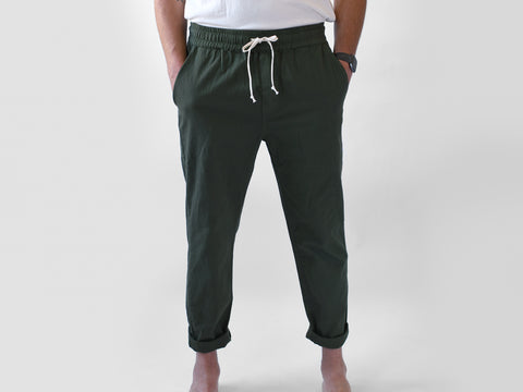 BEDFORD PANTS. ARMY