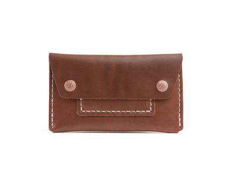 CORTER HANDMADE MECHANICS WALLET - CHOCOLATE