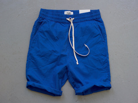 EAST COAST. ROYAL BLUE - COTTON SHORTS