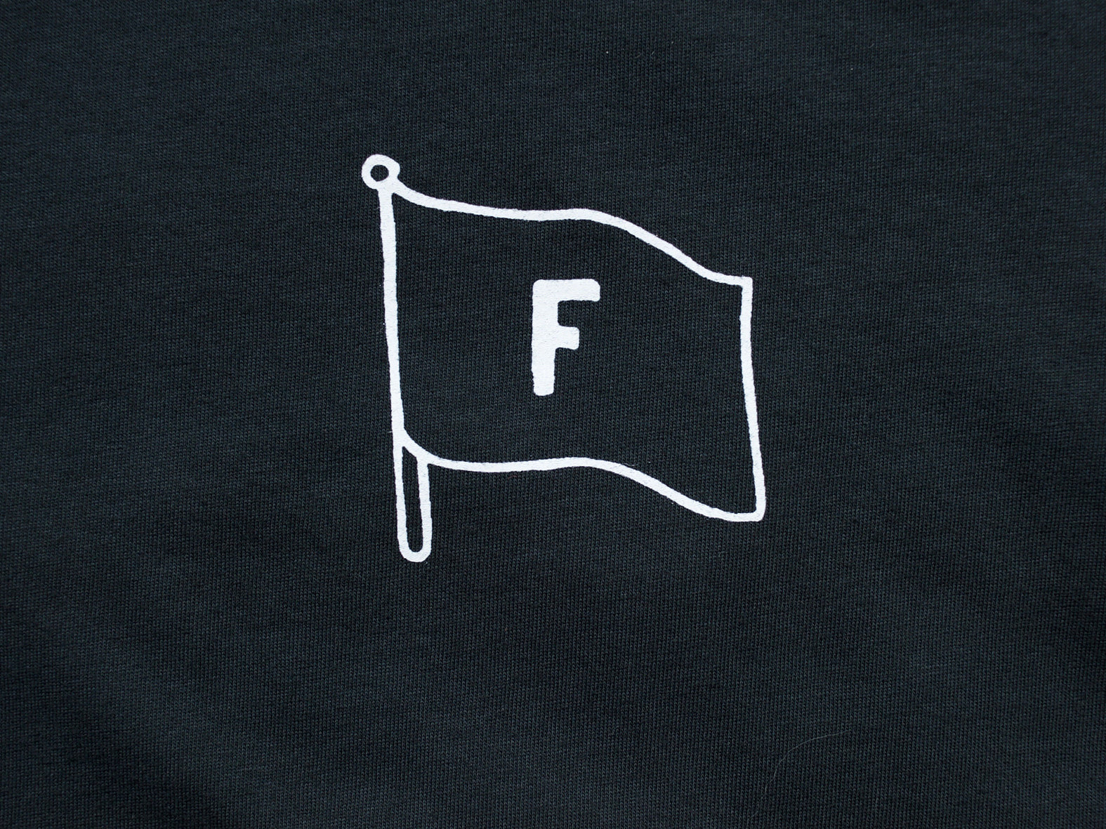FLAG. FADED BLACK