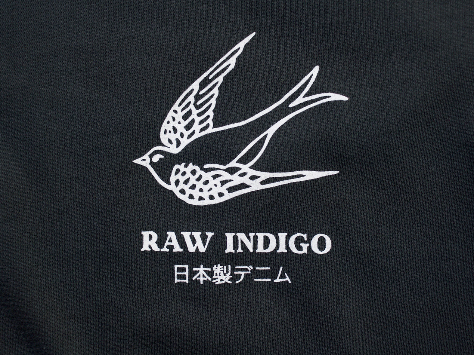 RAW INDIGO. FADED BLACK